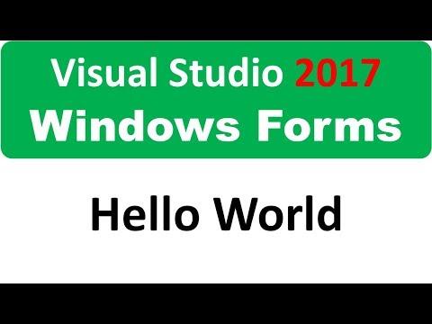 Windows Form - Hello World