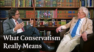 What Conservatism Really Means - Roger Scruton in Conversation with Hamza Yusuf