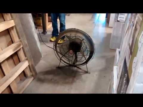 GE Vortalex industrial floor fan