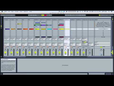 Ableton LIVE Tutorial - Add a loop to an existing project (session view)