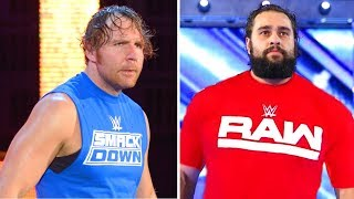 10 Shocking Spoilers WWE Superstar Shake Up 2018 - Dean Ambrose and Rusev Changing Brands?