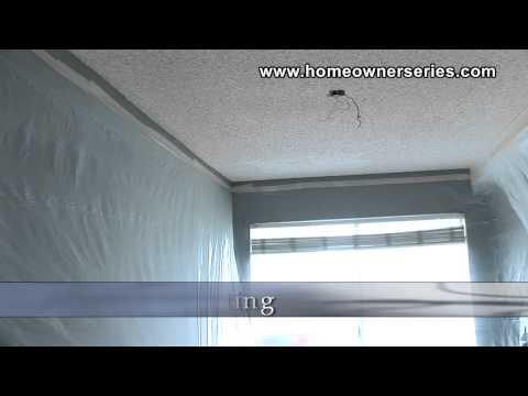 How to Fix Drywall - Plastic Sheeting - Materials - Drywall Repair