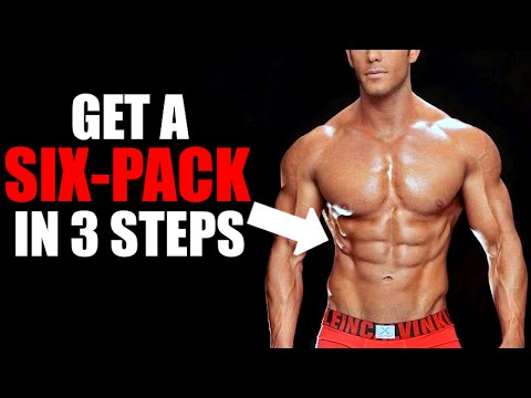 HOW TO GET SHREDDED SIX PACK ABS IN 3 SIMPLE STEPS!   HOW TO GET ABS + SIX PACK SECRETS