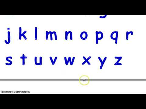 ABC Song | Writing the English Alphabet | Sounds of ABC| Letters of the English Alphabet.