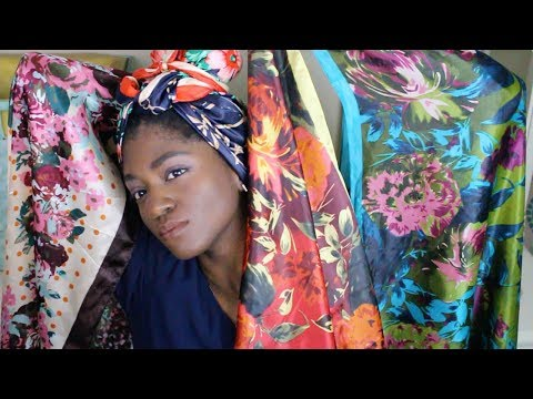GORGEOUS HEAD SCARF COLLECTION 2017 | SO SILKY