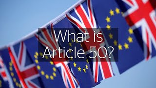 EU Referendum: What is Article 50?