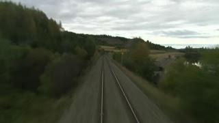 Train Cab Ride Live Stream 24/7 - Train Cab Rides in Fall