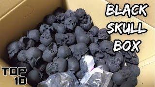 Top 10 Scary Dark Web Mystery Box Openings