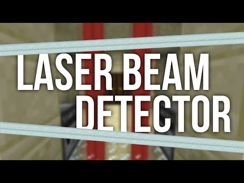 How to Build a Laser Beam Detector in Minecraft