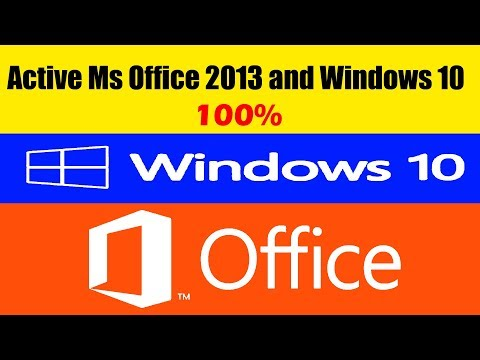 how to activate MS office 2013 and Windows 10(All Versions)OFFLINE   By SYED I.T SOLUTIONS