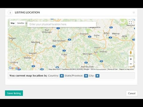 How to create Google Map API Key for Wordpress or website