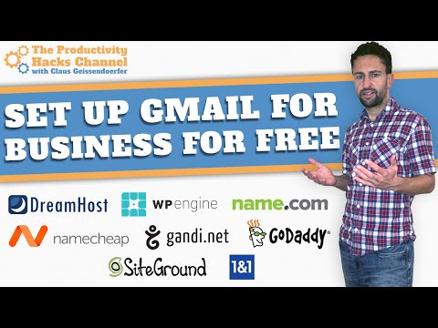 How To Set Up A Business Email Through Gmail For Free