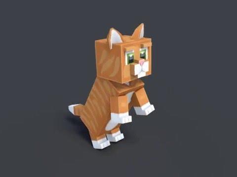 New Cat 3D Model