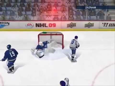 NHL 09 pc moje top goly