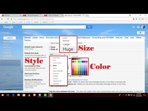 How to Customize Gmail Text, Size, Color, & Style