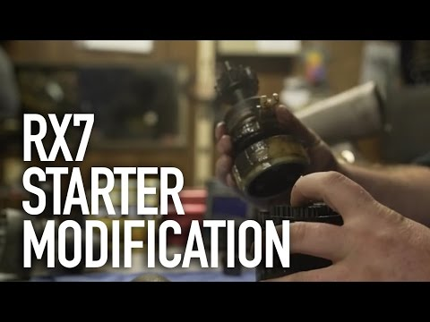 How To Make Your RX7 Start Easier