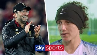 David Luiz reveals his admiration for Jurgen Klopp ahead of Chelsea's trip to Liverpool