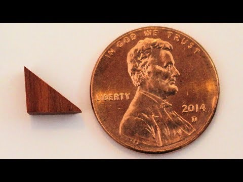 How to Cut Tiny Wood Shapes with a Miter Saw
