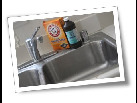 How to Clean a Stainless Steel Sink Using Different Methods