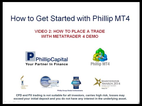 MetaTrader 4 Tutorial: How to Place A Trade with Phillip MT4 (Part 2 of 5)