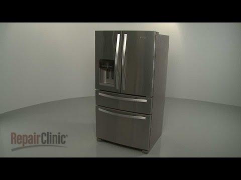 Whirlpool Refrigerator Disassembly (#WRX735SDBM00)/Repair Help