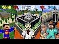 Download Minecraft NOOB vs. HACKER vs. PRO: SECURE BASE CHALLENGE in Minecraft MP3,3GP,MP4