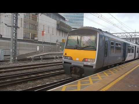 Two Class 321s arrive at Stratford for Southend Victoria - 3rd Nov. 2017