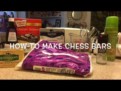 Recipes   How to Make Chess Bars