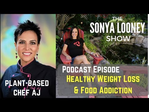 Healthy Weight Loss and Food Addiction with Chef AJ on my Podcast