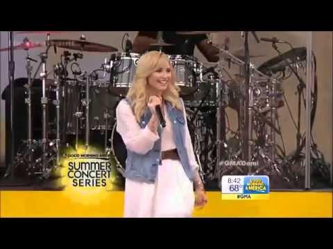 Demi Lovato - Live in GMA (Summer Concert Series 2013)
