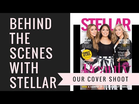 Behind The Scenes Of Our Stellar Magazine Cover