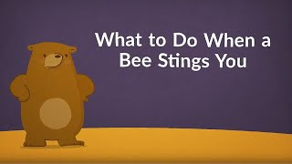 Download What to Do When a Bee Stings You (Remedies & Relief & Remedies) Video