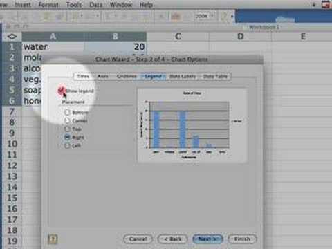 Excel Bar/Column Graphs