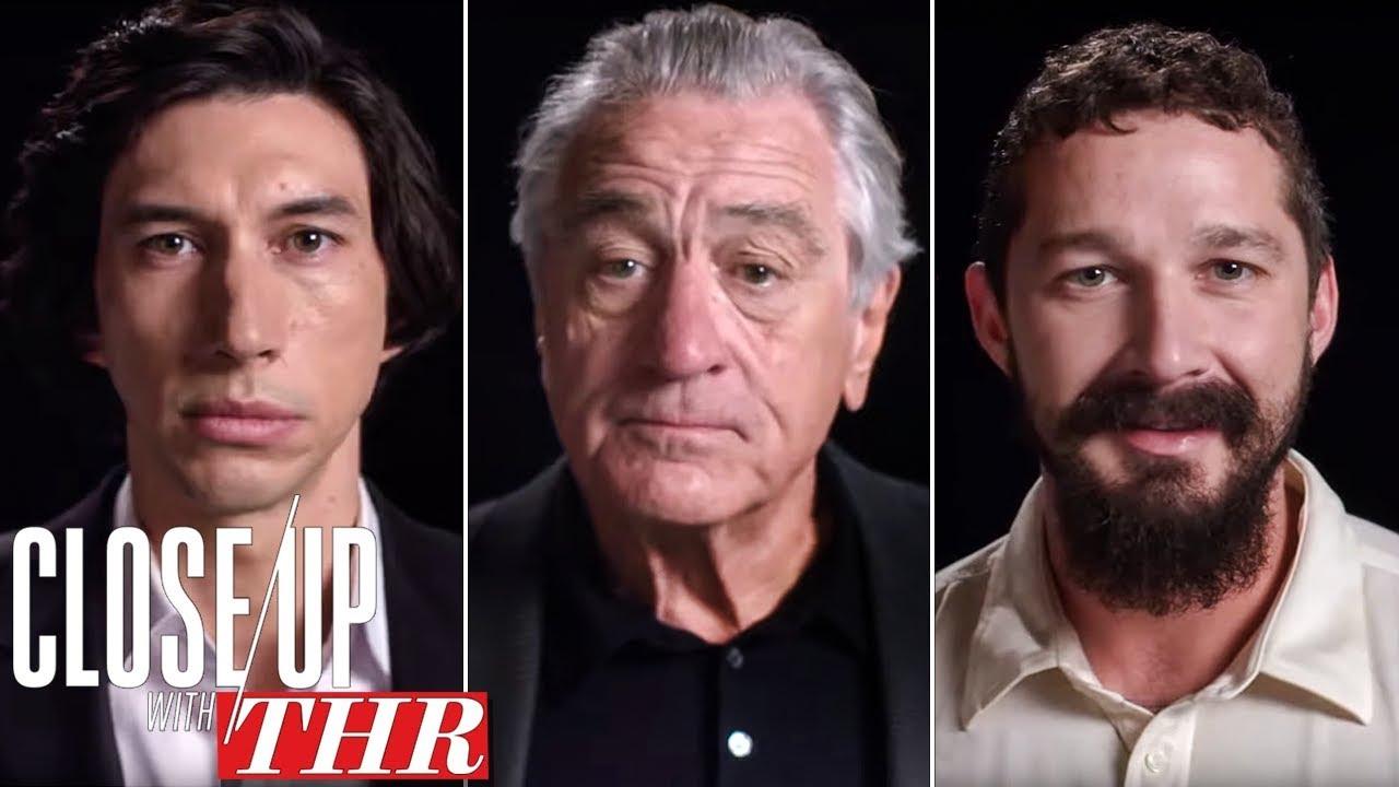 Actors Roundtable: Adam Driver, Shia LaBeouf, Robert De Niro, Tom Hanks, Jamie Foxx   Close Up