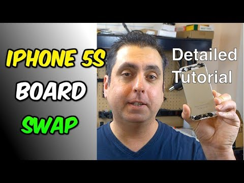 iPhone 5S Logic Board Swap - How To