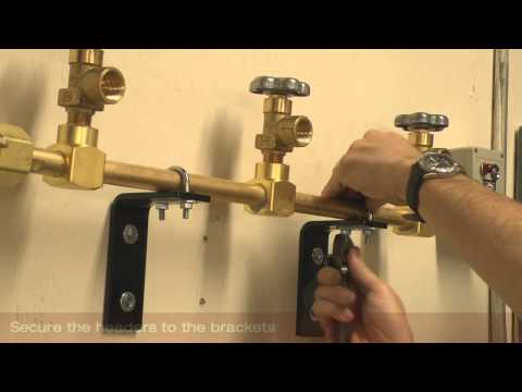 Switchover Manifold Installation - Harris Products Group