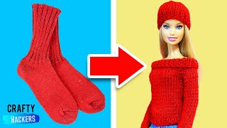 Download 10 Barbie Hacks and Toy Crafts Video
