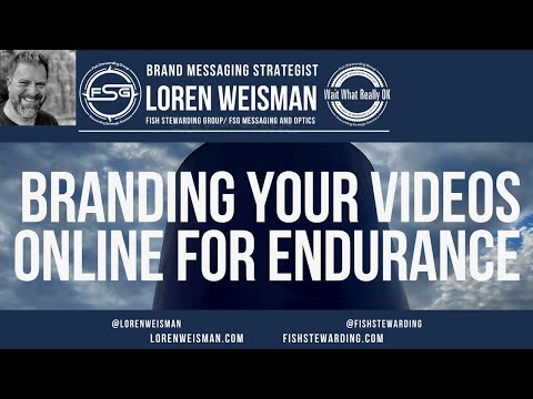 Branding Your Videos and Your Video Channel for maximum results.