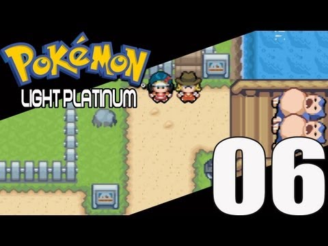 Lets Play Pokemon Light Platinum - Part 6: Funny looking lamps