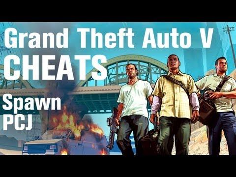 GTA 5 Cheats - Spawn PCJ