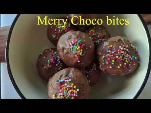 How to make merry chocolate chip dough bites[in Hindi]