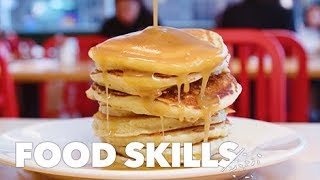 How to Make Perfectly Fluffy Pancakes | Food Skills
