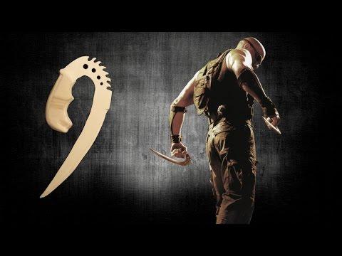 How to make Riddick's Saberclaws [Furyan Ulaks]! - Free templates