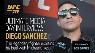Diego Sanchez is the most intense man in MMA! He is ready to FIGHT at UFC 239