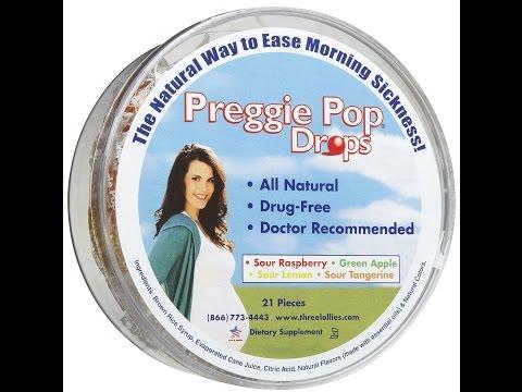 Preggie Pop Drops for Morning Sickness Relief