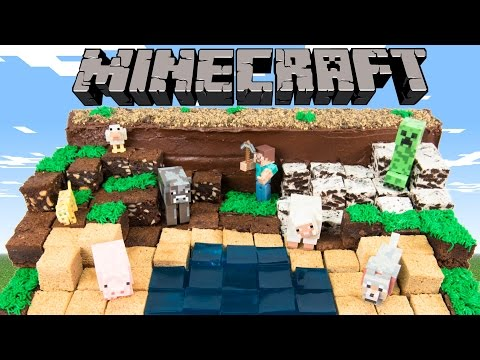 How to Make a Minecraft Cake from Cookies Cupcakes and Cardio