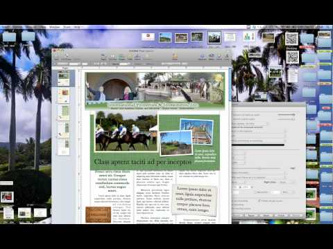 How To Create A Newsletter on a Mac Tutorial - Computer.m4v