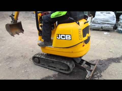 The Auctioneer Ltd Presents: Machine Test Drive: JCB 8008 micro digger year 2012