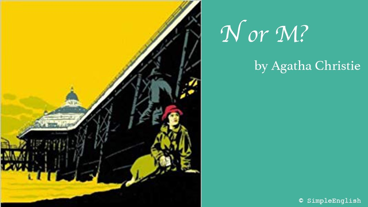 📚 N or M? by Agatha Christie   Audiobook   Rewrite Book in Simple for Learning English