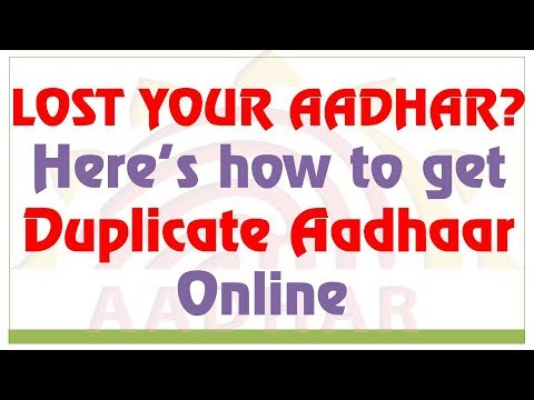 Aadhar card download by name and date of birth | Duplicate Aadhar card kaise banaye